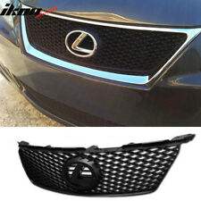 Fits 06-08 Lexus IS250 350 ISF IS-F Style Black Mesh Front Hood Grille Grill