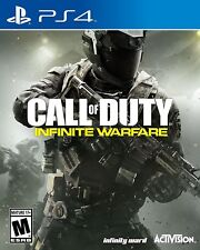 Call of Duty Infinite Warfare PlayStation 4 Standard Sony PS4 Games Brand New