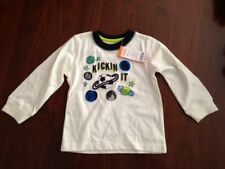 Infant Boys New Gymboree Shirt Space and Sport Balls Theme Size 18-24 months