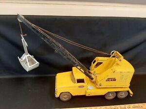 "1962-1964 TONKA ""Mobile Clam"" Crane Shovel Truck Toy"