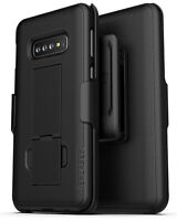 Encased For Samsung Galaxy S10 Belt Clip Case Holster Holder (DuraClip) Black