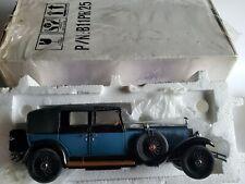 Franklin Mint 1929 Rolls Royce Phantom II 1:24 Scale Diecast Model Car B11PR25