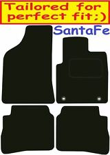 Deluxe Quality Car Mats for Hyundai Santa Fe 5 Seater 06-09 ** Tailored for Perf