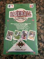 1990 UPPER DECK BASEBALL WAX PACK BOX- FACTORY SEALED  POSS SAMMY SOSA  RC