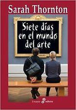 Siete días en el mundo del arte. NUEVO. Nacional URGENTE/Internac. económico. EN
