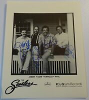 Rare Vintage STATLER BROTHERS Hand Signed AUTOGRAPH Country Western PHOTO