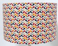 Scandi 70s Retro Little Stem Multicolour Lampshade, Ceiling Pendant, Table Lamp