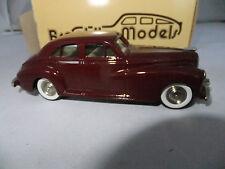 Brooklin 1:43 Scale BRK 18X 1941 Packard Clipper Taxi Sharrock (Maroon)