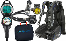 New listing Cressi Ace Cold / Warm Water Scuba Diving Gear Package Assembled GUpG Reg Bag