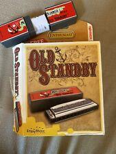 "Vintage M Hohner's No.34B ""Old Standby"" W / Box C"