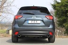 FOX Auspuff Endrohr Satz Mazda CX5 KE Anschweiß Endrohr re + li 1x100 Typ16