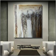 ABSTRACT Modern PAINTING Large CANVAS WALL ART USA Framed ELOISExxx
