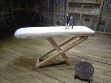 Dollhouse Miniature 1:12 Ironing Board and Iron Classics Bad