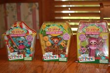 3 NIP Lalaloopsy Silly Fun House Marina Anchors Jewel Sparkles Ace Fender Bender