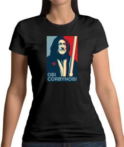 Obi Corbynobi - Womens / Ladies T-Shirt - Funny / Politics / Labour / Election
