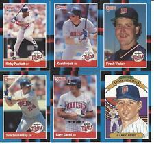 1988 Donruss Minnesota Twins Team Set