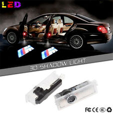New 2 PCS For BMW M Logo Welcome Light LED Door Courtesy Shadow Laser Projector