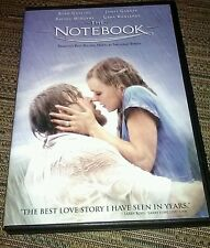 The Notebook DVD Ryan Gosling, Rachel McAdams