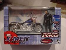 X-MEN Movie WOLVERINE X-CYCLE ToyBiz 2000 HUGH JACKMAN New MIB Motorcycle SEALED