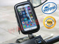 Motorcycle Bicycle Mobile Phone Note Cover Holder Iphone Samsung Sony All Device