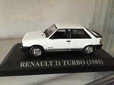 #256 Renault 11 Turbo 1985 Bianco - ALTAYA 1:43