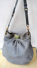 MARC BY MARC JACOBS Classic Q Hillier Hobo Pebbled Leather Handbag Bag Sold Out