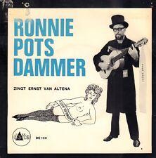 "RONNIE POTSDAMMER – Zingt Ernst Van Altena (1962 VINYL EP 7"" HOLLAND)"