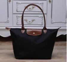 NEW Longchamp Le Pliage Black tote bag handbag L Large