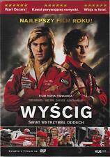 Rush (2014) dvd , Chris Hemsworth New and Sealed, Region 2, English/ Polish