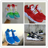 New Men Air Huarache Casual Sport Shoes Sneakers Athletic Shoes white red