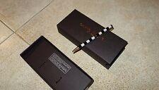 Campo Marzio SLIM Unix Roller Pen Penna a Sfera Acciaio Inox Made in Italy,Auth.