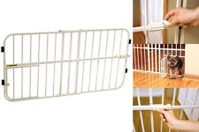Carlson Gate Fence Small Pet Door Safety Dog Cat Baby Adjustable Extra Wide Walk