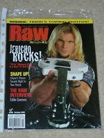 WWF MAGAZINE RAW OCTOBER 2000 WRESTLING CHRIS JERICHO COVER & TERRI POSTER WWE