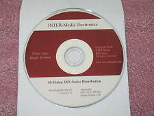 Mutech M-Vision 5XX series distribution CD with Drivers up to XP