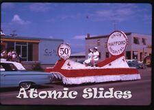 1963 Kodachrome photo slide Parade Saskatchewan Canada #4  CJNB nurses