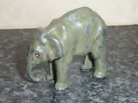 VINTAGE BRITAINS LTD DIE-CAST ELEPHANT FIGURE MADE IN ENGLAND