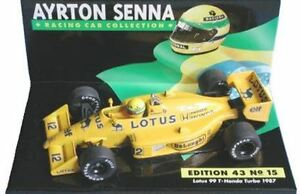 MINICHAMPS Ayrton Senna model race cars Lotus or McLaren or Brabham Porsche 1:43