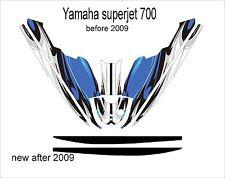 YAMAHA SUPER JET 700 jet ski wrap graphics pwc stand up jetski decal kit race 3