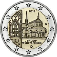 GERMANY 5 x 2 EURO 2013 Baden-Wurttemberg - UNC - All 5 mints!!