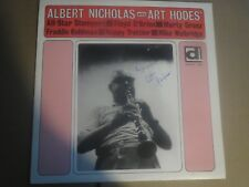 33RPM Art Hodes Autograph on a circa 1980s Hodes, Nicholas, Grosz LP sharp E E-E