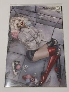Harley Quinn #1 - Natalie Sanders Virgin Variant - Adam Hughes Homage DC Comics