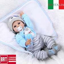 Lifelike Reborn Baby Doll 55CM Doll Vinyl Kids Girl Boy playmate Bambole rinasce