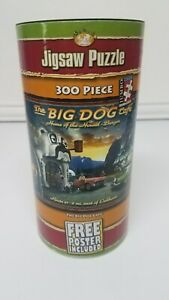 """NEW - """"The Big Dog Cafe"""" Jigsaw Puzzle 300 Jumbo Piece Serendipity & POSTER"""