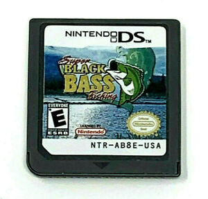 Super Black Bass Fishing Nintendo DS 2006 Game Cartridge Only No Case Tested Wrk