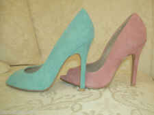 Kurt Geiger Stiletto Peep Toes Suede Upper Heels for Women