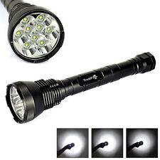 BORUIT 11000Lm 9T6 9X XM-L T6 LED 18650/26650 Super Bright Flashlight Torches