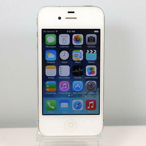 Apple iPhone 4s (AT&T) Smartphone (32GB) White - GSM 3G - Model A1387