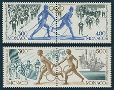 1991 MONACO N°1770/1773** SPORTS JEUX OLYMPIQUES /WINTER OLYMPICS ALBERTVILLE