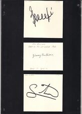 Signed card by Jimmy Bullions the Derby County Footballer