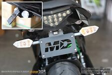 12-16 Kawasaki Ninja 650 EX650 Fender Eliminator Kit w/ LED Plate Light